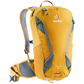 Deuter Race Mochila 8L, curry/ivy